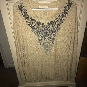 Solitaire sweater sz Med from The Buckle .. euc